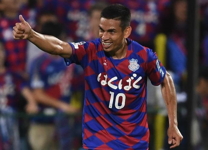 BLOG: Dudu ia ser substituído, mas pediu para continuar e fez o gol da vitória do Kofu