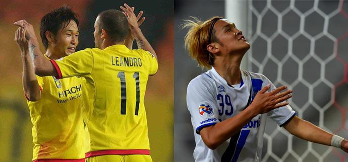 BLOG: Oitavas da ACL: Gamba Osaka e Kashiwa Reysol vencem a ida na Coreia do Sul