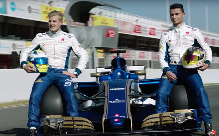 BLOG: Vídeo: as primeiras voltas da Sauber C36