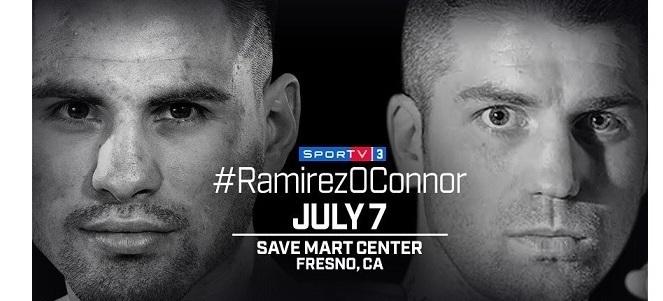BLOG: Jose Carlos Ramirez vs Danny O'Connor é a luta da semana na TV