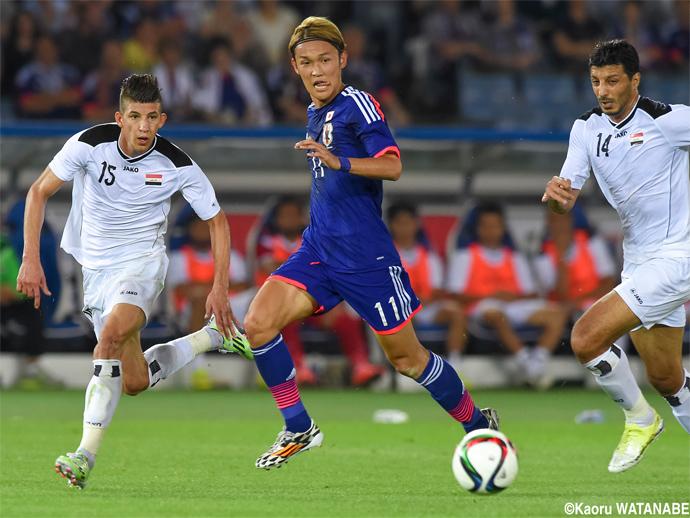 BLOG: Implacável, Japão goleia Iraque em amistoso antes das Eliminatórias