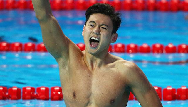 BLOG: Zetao Ning é o nadador mais famoso do mundo pela lista Top 100 da ESPN