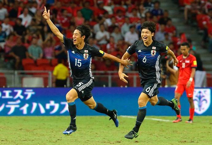 BLOG: Japão estreia novo uniforme com vitória sobre Cingapura nas Eliminatórias
