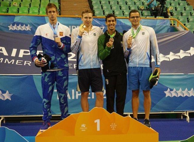 BLOG: Henrique Martins bronze em Taipei, 2o maior nadador brasileiro em Universíades