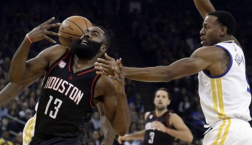 BLOG: James Harden decisivo na vitória sobre o Warriors