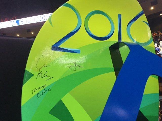 BLOG: Por que apenas os vencedores assinaram a Havaiana gigante?