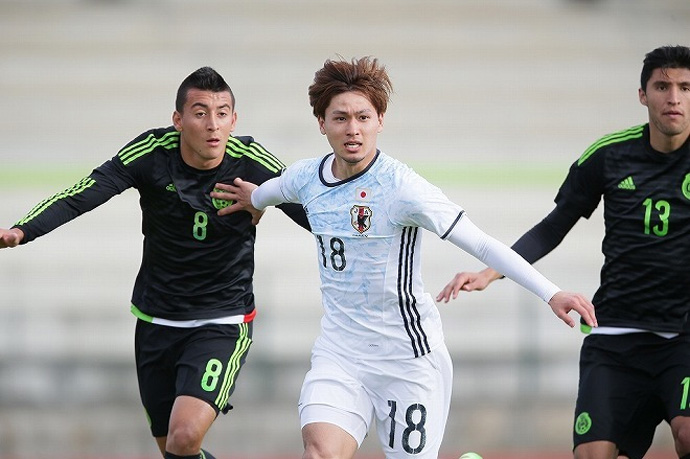 BLOG: Análise: Japão Sub-23 mostrou suas principais características contra o México
