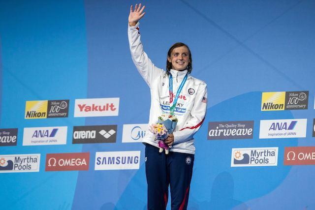 BLOG: Katie Ledecky atleta olímpica do ano nos USA, de novo!