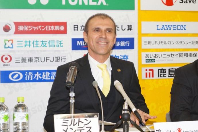 BLOG: Sucessor de Nelsinho, Milton Mendes quer revelar jogadores para seleção japonesa