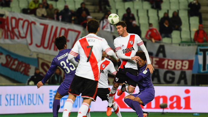 BLOG: Sanfrecce dificulta vida do River Plate, mas cai no 2ºT com falha do goleiro