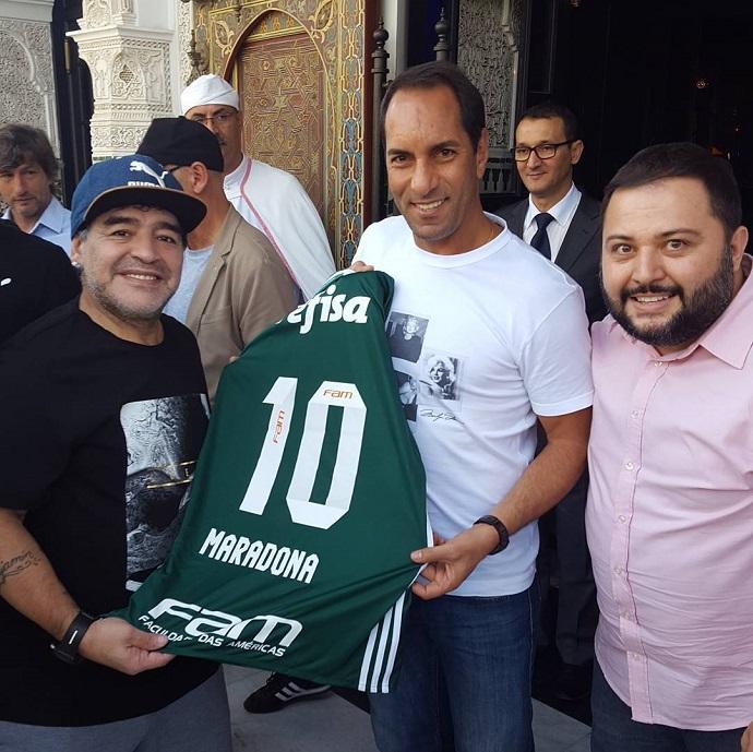 BLOG: Higuita, Maradona, Rivaldo, Caniggia... amistoso em Marrocos reúne craques