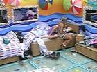 Fabiana tem medo que o filho se sinta abandonado (TV Globo/BBB)