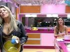 Sisters analisam jogo de Líderes: 'Eliminaram dois' (TV Globo/BBB)