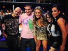 Reencontro: ex-BBBs curtem a grande final... (BBB / TV Globo)