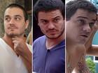 As mudanças no visual dos brothers (BBB/ TV Globo)