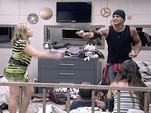 Brigas e confusões mexeram com os ânimos (BBB / TV Globo)