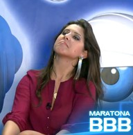 Andressa v beijo de Nasser e Fani (BBB / TV Globo)