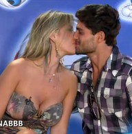 Fernanda e Andr avaliam relao (BBB / TV Globo)