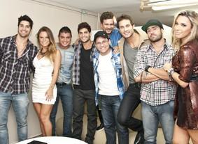 Ex-brothers se reúnem para a Grande Final (BBB / TV Globo)