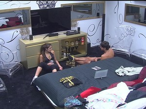 BBB &#224;s 08h44m do dia 08/02. (Foto: Big Brother Brasil)