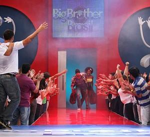 Diogo e Janaina são eliminados do BBB11 (Inácio Moraes / TV Globo)
