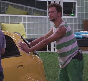 BBB às 23h22m do dia 08/01. (Foto: Big Brother Brasil)