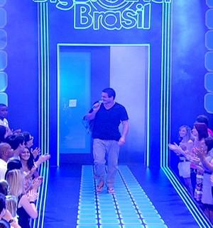 Rafa é eliminado com 92% dos votos... (BBB / TV Globo)