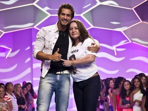 Eliminacao elieser mae (Foto: BBB / TV Globo)