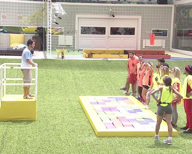 BBB às 11h44m do dia 03/02. (Foto: Big Brother Brasil)
