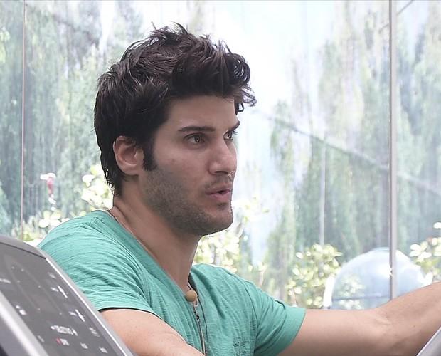BBB às 12h08m do dia 26/02. (Foto: Big Brother Brasil)