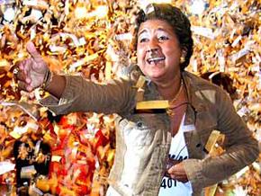 Cida foi a primeira mulher a ganhar o Big Brother Brasil