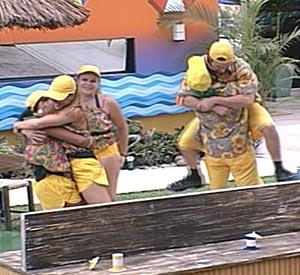 Equipe 'Turistas' vence Prova da Comida (BBB / TV Globo)