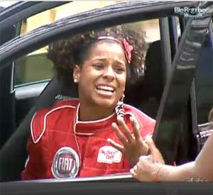 Janaina é o novo Anjo do BBB11 e ganha um carro (BBB/TVGlobo)