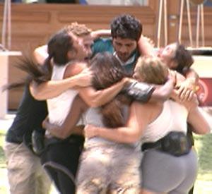 Grupo que já estava na Casa Luxo ganha a Prova da Comida (BBB/TV Globo)