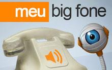 Mande uma mensagem do Big Fone para alguém (BBB/TV Globo)