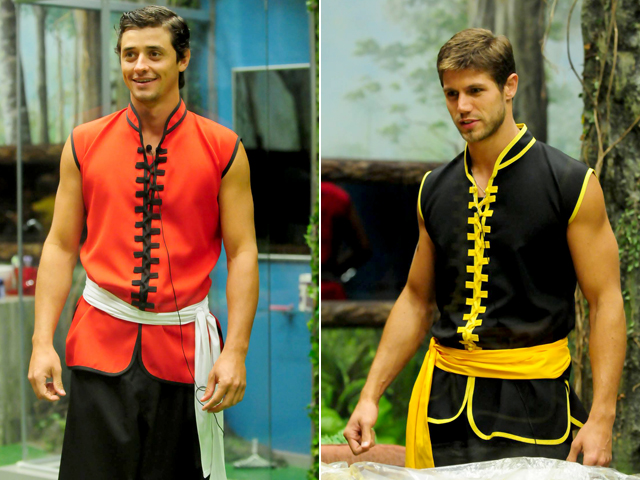 Os brothers arrasam com looks superoriginais em cada festa! Confira todos as roupas que brilharam no BBB12