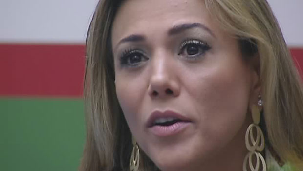 Fabiana  a segunda colocada e ganha R$ 150 mil