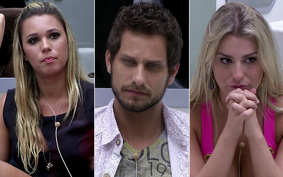 Tensão! Marien, Elieser e Fernanda aguardam o primeiro contato de Bial