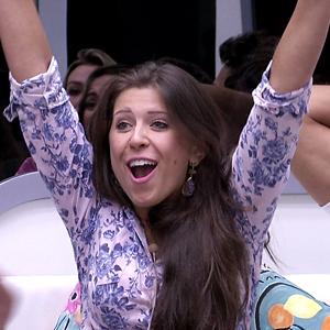 Andressa dá 'Poder do não' a Nasser e ganha R$ 10 mil (BBB/TV Globo)