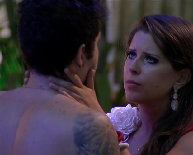 Nasser e Andressa (Foto: BBB/TV Globo)
