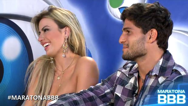 nanda e de (Foto: BBB / TV Globo)