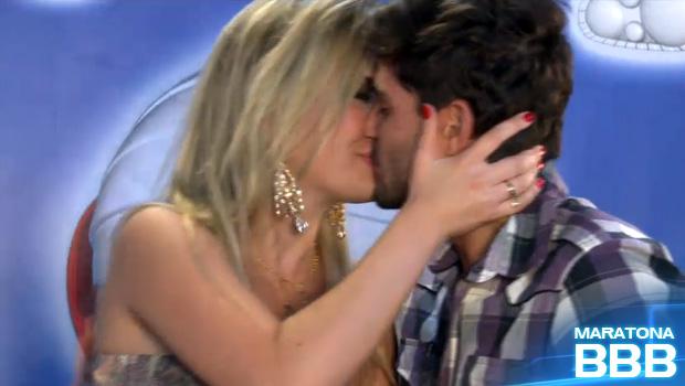 andre e fernanda beijo (Foto: BBB / TV Globo)