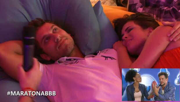 Aline fala sobre a relação entre Elieser e Kamilla (Foto: BBB / TV Globo)