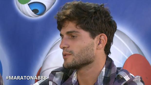 andré maratona (Foto: BBB / TV Globo)