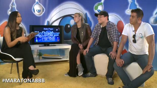 marien dhomini ivan (Foto: BBB / TV Globo)