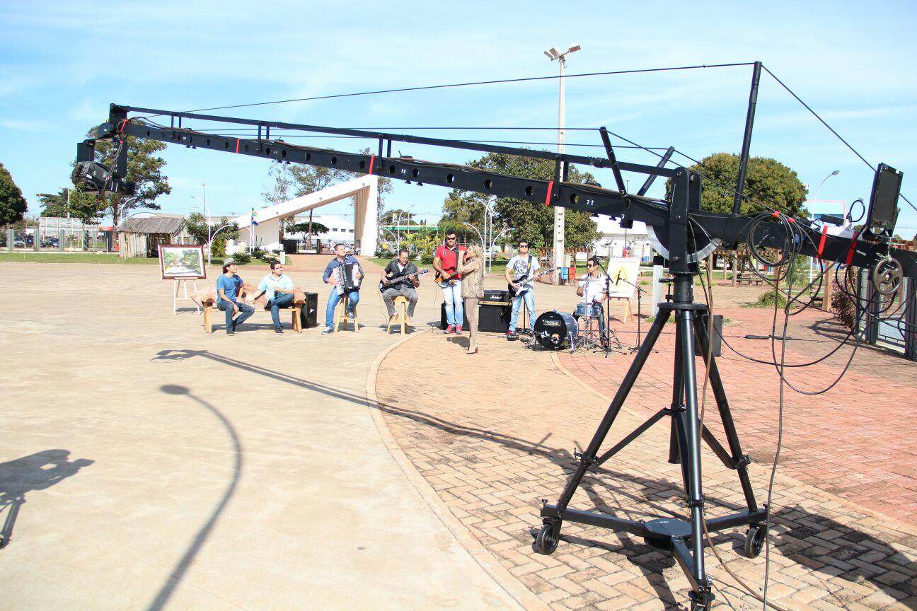 Equipe do Meu Mato Grosso do Sul se preparando para mais um programa
