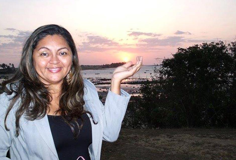 Lenita Mônica em Barra Grande