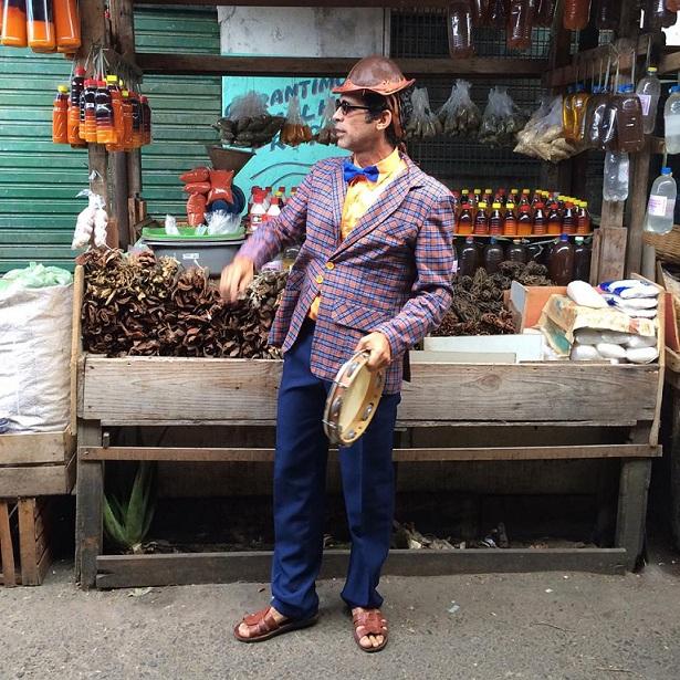 Jackson Costa na tradicional Feira de São Joaquim