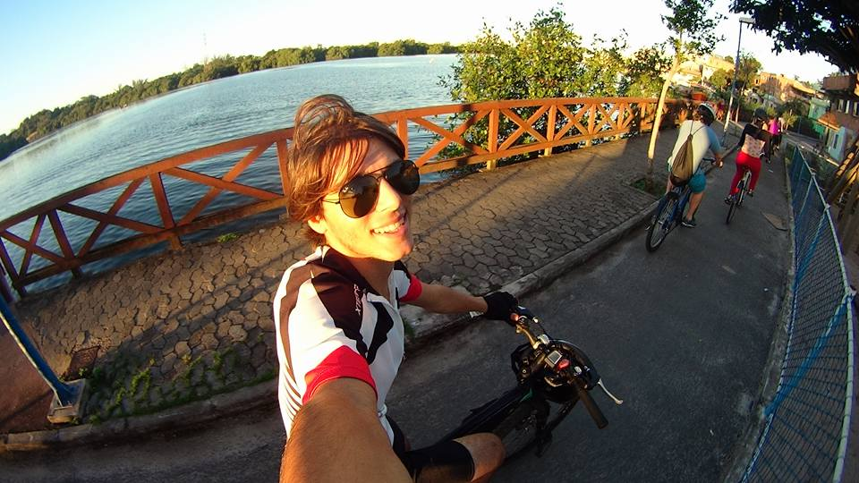 Fotos da galera utilizando a bike