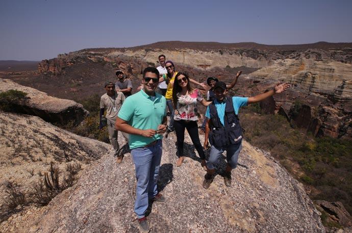 Equipe gravou o Programão em homenagem ao Dia do Piauí